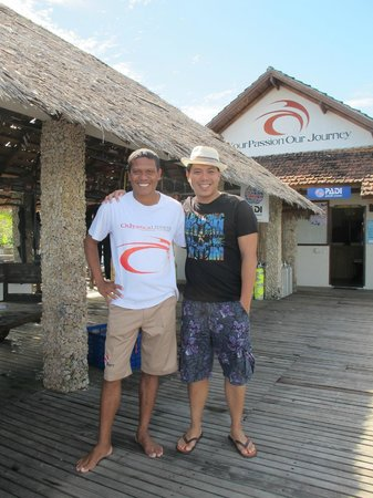 Cocotinos Manado: Me and my Dive Guide