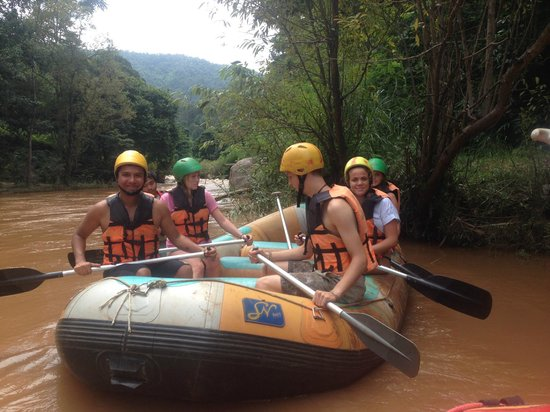 Jumbo Elephant Camp Day Tour: Rafting