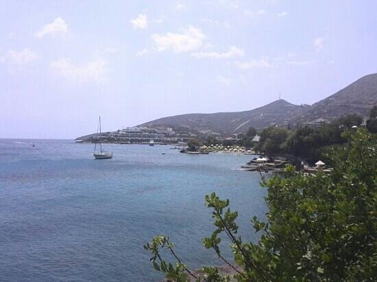 Elounda Beach Hotel & Villas: море
