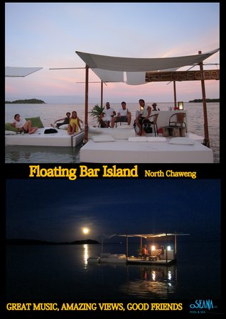 Oseana Floating Bar: Private parties from 1,190THB per person