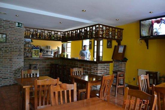 Hotel Benzua: Cafetería del hotel.