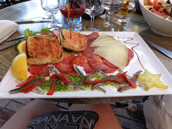 Chez Pujol : Assiette de Tapas