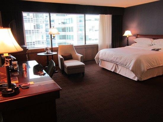 Sheraton Ottawa Hotel: Habitación