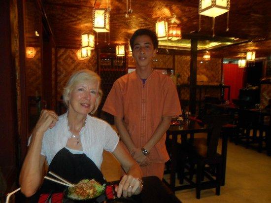 Beyond Taste: Our waiter on both nights