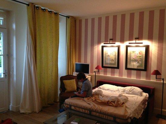 Domaine de la Tortiniere : Camera Prestige terzo giorno