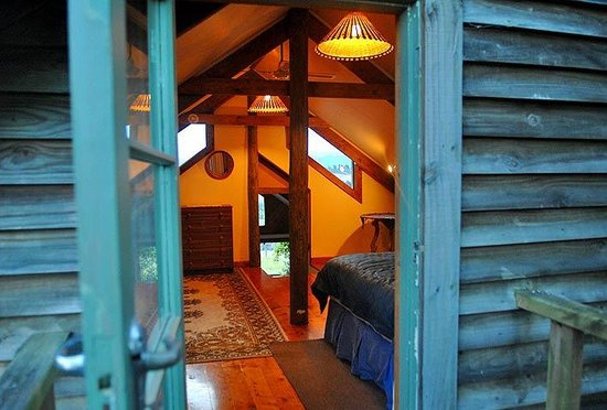Nelson Coastal Barnstay: The Barn, upstairs bedroom
