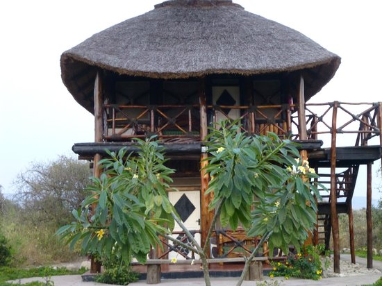 Manyara Wildlife Safari Camp: Notre bungalow !