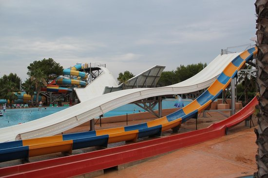 Hotel Marina Parc: Some of the water slides