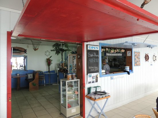 Saltwater Cafe: the inside of the cafe