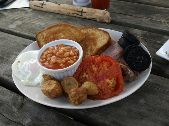 The Sound Cafe: breakfast