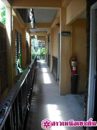 Phra Nang Inn: ทางเดิน