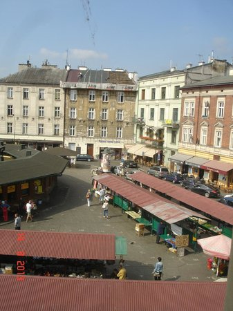 Bed & Breakfast Kolory: View from our room (Second Floor)