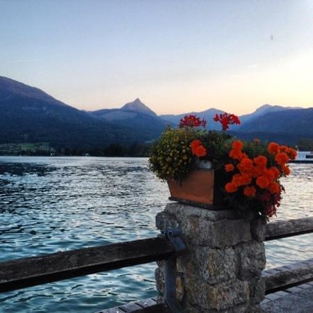 Weisses Rössl: جلسة على البحيرة