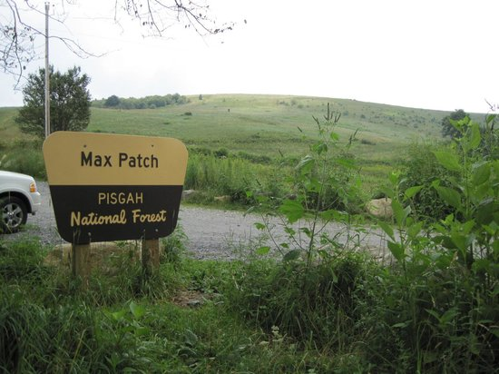 Parking area at Max Patch