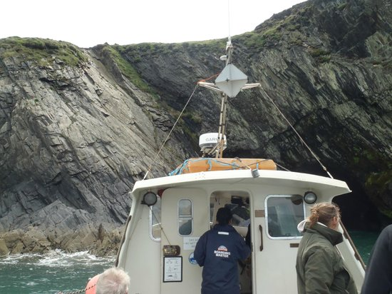 Ramsey Island Boat Trips -Thousand Islands Expeditions: Ramsey island and the boat