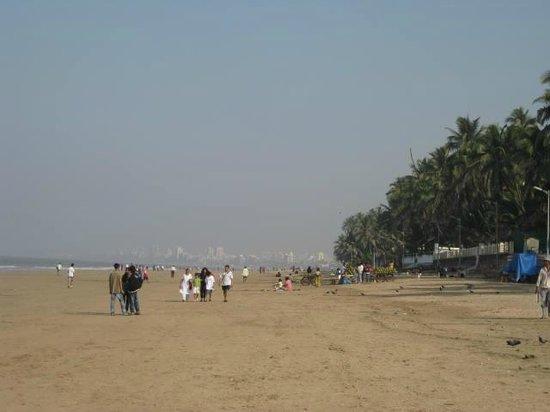 Hotel Beach Garden: Juhu Beach area nearby