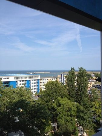 Hotel Del Mar Mamaia: sea view from 5th floor