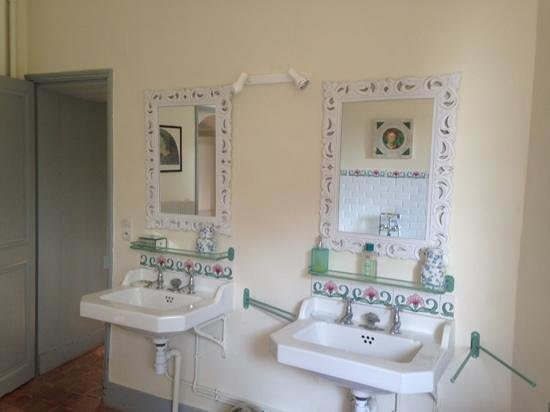 La Roche Berthault : la salle de bains