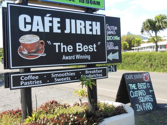Jireh Cafe Hours