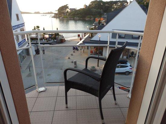 Hotel de l'Europe: vue de la terrasse