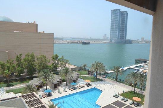Ras Al Khaimah Hotel: View of creek from room