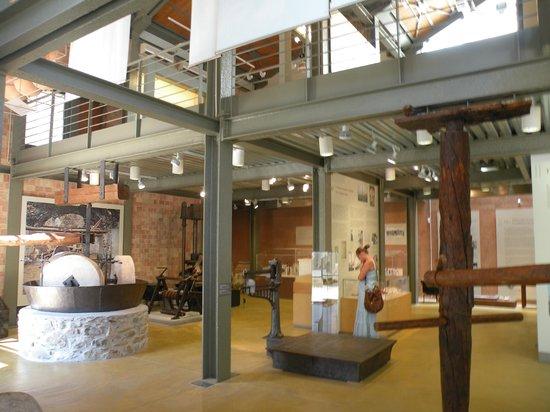 Musée de l'Olivier et de l'Huile Grecque : Im Inneren des Museums