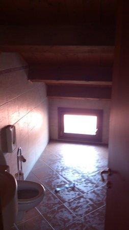 Gorizia a la Valigia: Bra utrymme i badrum om man vill krypa