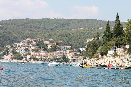 Marina Hotel: Вид центра города