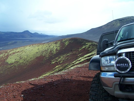 Iceland Travel - Day Tours: Views from Hekla tour by a Super Jeep