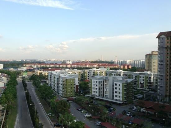 Bayu Marina Resort: view from hotel room balcony