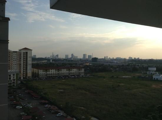 Bayu Marina Resort: view of surroundings from hotel balcony