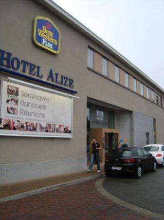 Hotel & Aparthotel Alizé Mouscron : Front