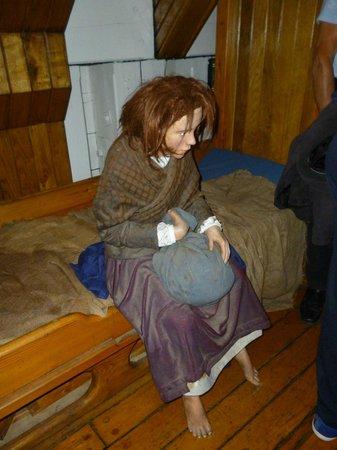 Museo de la hambruna Jeanie Johnston: Niña