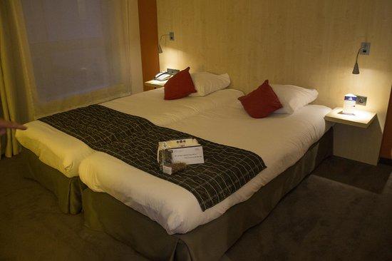 Hotel & Aparthotel Alizé Mouscron : Beds