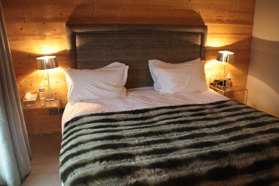 Hotel Le Chalet Blanc : chambre