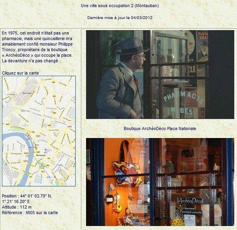 Archeodeco Boutique des Musees: Philippe Noiret et la pharmacie du vieux fusil,