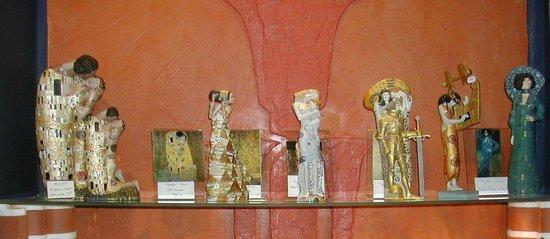 Archeodeco Boutique des Musees: Collection Klimt en 3D