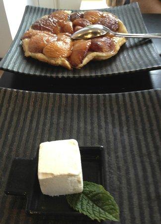 Le Jeroboam : Tarte Tatin d'apricots