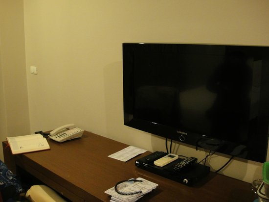 Ziniza Hotel: Flat screen TV in room