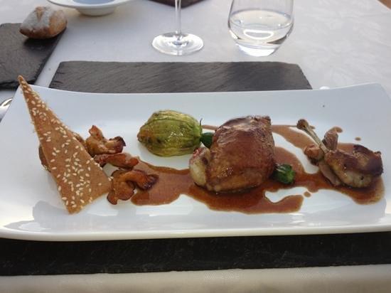 Restaurant La Balette: pigeon