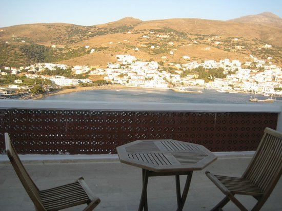 Mare Vista Hotel - Epaminondas: Balcony and view smaller double room.