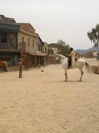 Fort Bravo Texas Hollywood: spectacle dans le village