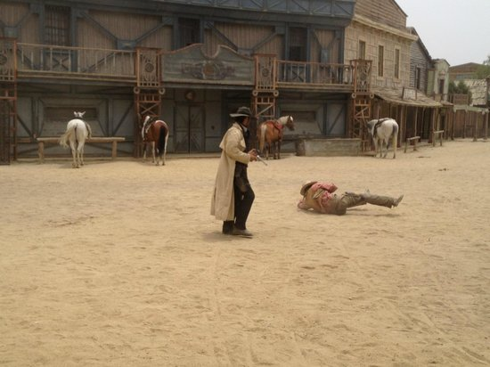 Fort Bravo Texas Hollywood : spectacle