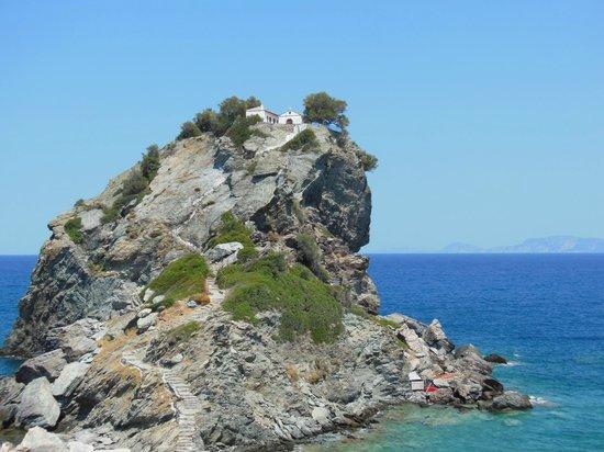 Chiesetta di Agios Ioannis - Skopelos - Foto di Agios Ioannis Beach, Skopelos - Tripadvisor