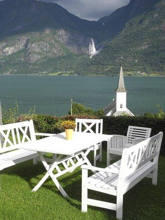 Nes Gard: Outdoor relaxation
