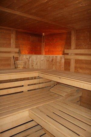 Hotel Adler: Sauna Innenansicht