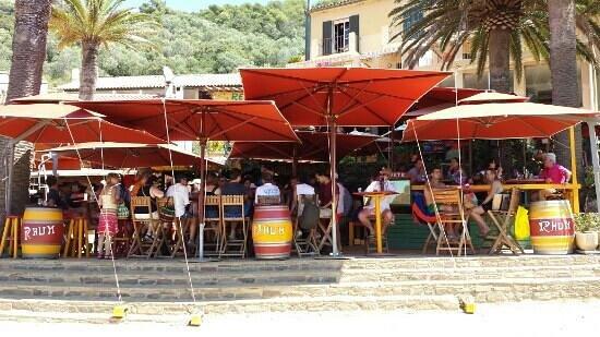 L'Hostellerie Provencale: le bar cocktails. ...special mojito