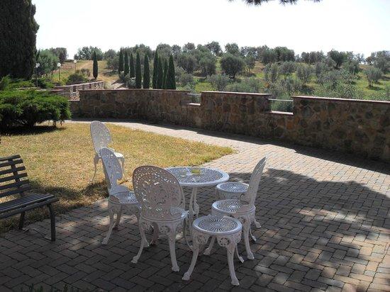 Borgo Di Montereggi: One of the outside tables