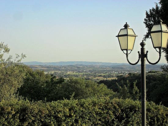 Borgo Di Montereggi: View over the valley from the grounds
