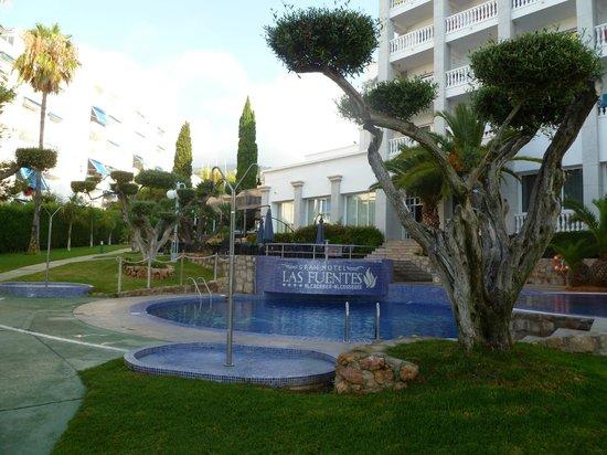 gran hotel las fuentes jardines y piscinas del hotel